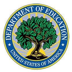 Seal for the U.S. Department of Education