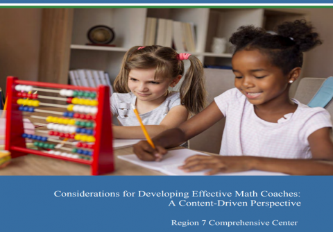 Considerations for Developing Effective Math Coaches: A Content-Driven Perspective
